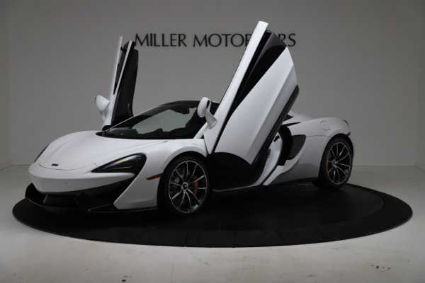 New 2020 McLaren 570S Spider Convertible for sale $231,150 at Bentley Greenwich in Greenwich CT 06830 13
