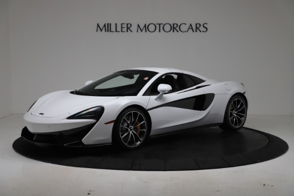New 2020 McLaren 570S Spider Convertible for sale $231,150 at Bentley Greenwich in Greenwich CT 06830 14