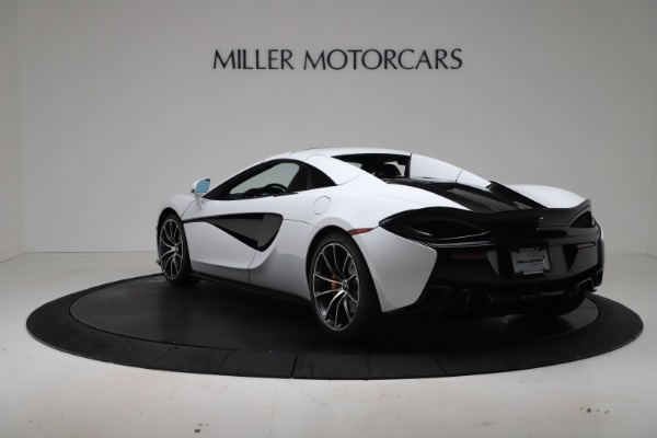 New 2020 McLaren 570S Spider Convertible for sale $231,150 at Bentley Greenwich in Greenwich CT 06830 16
