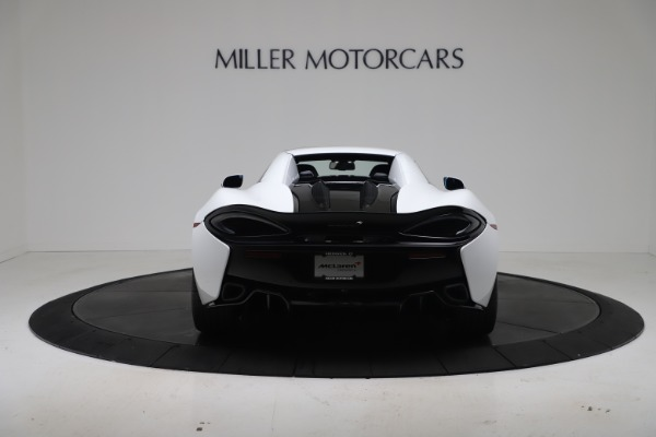 New 2020 McLaren 570S Spider Convertible for sale $231,150 at Bentley Greenwich in Greenwich CT 06830 17