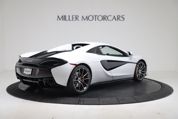 New 2020 McLaren 570S Spider Convertible for sale $231,150 at Bentley Greenwich in Greenwich CT 06830 18