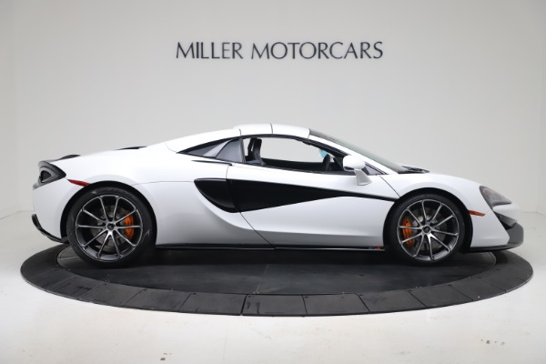New 2020 McLaren 570S Spider Convertible for sale $231,150 at Bentley Greenwich in Greenwich CT 06830 19