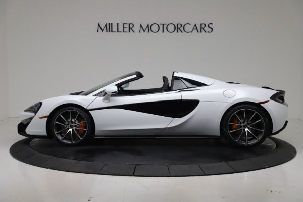 New 2020 McLaren 570S Spider Convertible for sale $231,150 at Bentley Greenwich in Greenwich CT 06830 2