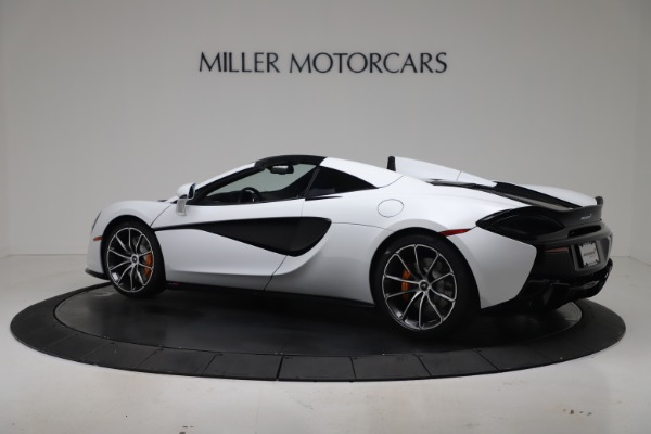 New 2020 McLaren 570S Spider Convertible for sale $231,150 at Bentley Greenwich in Greenwich CT 06830 3