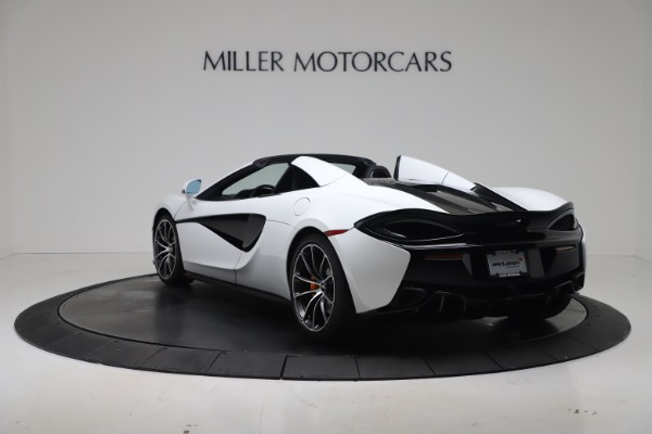 New 2020 McLaren 570S Spider Convertible for sale $231,150 at Bentley Greenwich in Greenwich CT 06830 4