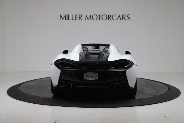 New 2020 McLaren 570S Spider Convertible for sale $231,150 at Bentley Greenwich in Greenwich CT 06830 5