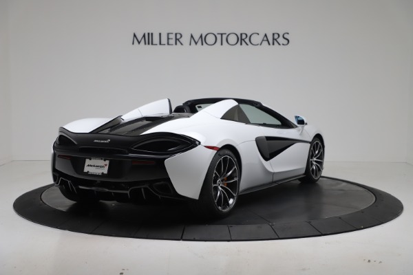 New 2020 McLaren 570S Spider Convertible for sale $231,150 at Bentley Greenwich in Greenwich CT 06830 6