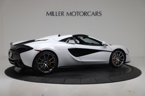 New 2020 McLaren 570S Spider Convertible for sale $231,150 at Bentley Greenwich in Greenwich CT 06830 7