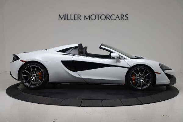 New 2020 McLaren 570S Spider Convertible for sale $231,150 at Bentley Greenwich in Greenwich CT 06830 8