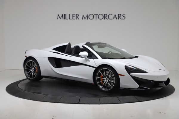 New 2020 McLaren 570S Spider Convertible for sale $231,150 at Bentley Greenwich in Greenwich CT 06830 9