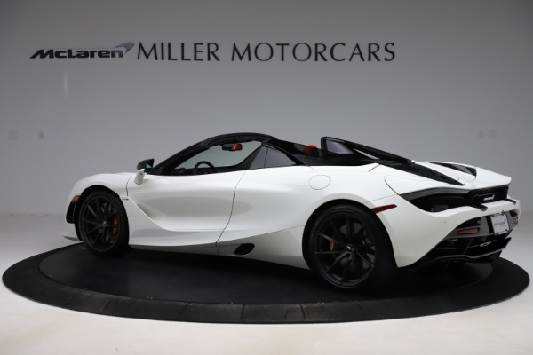 New 2020 McLaren 720S Spider Performance for sale $386,289 at Bentley Greenwich in Greenwich CT 06830 3