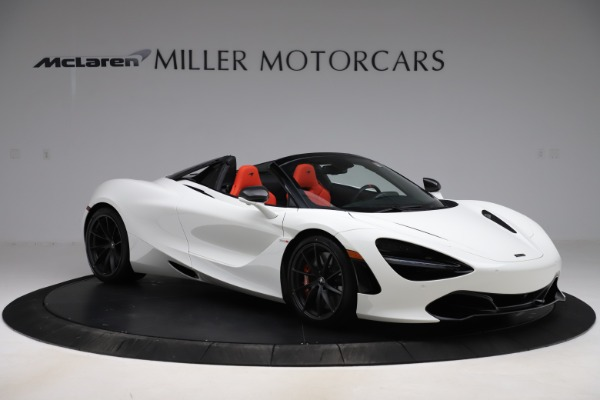 New 2020 McLaren 720S Spider Performance for sale $386,289 at Bentley Greenwich in Greenwich CT 06830 9