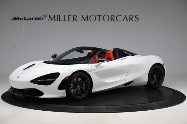 New 2020 McLaren 720S Spider Performance for sale $386,289 at Bentley Greenwich in Greenwich CT 06830 1