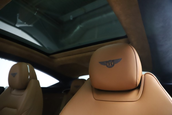 New 2020 Bentley Continental GT W12 for sale $260,770 at Bentley Greenwich in Greenwich CT 06830 21