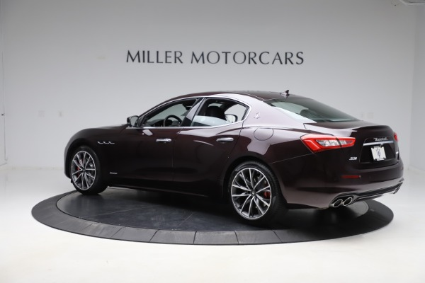 New 2020 Maserati Ghibli S Q4 GranLusso for sale $94,335 at Bentley Greenwich in Greenwich CT 06830 4