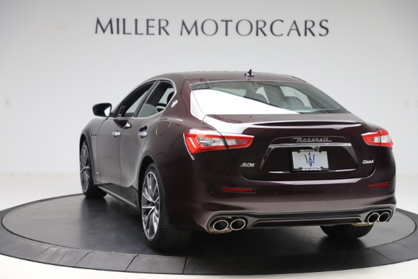 New 2020 Maserati Ghibli S Q4 GranLusso for sale $94,335 at Bentley Greenwich in Greenwich CT 06830 5