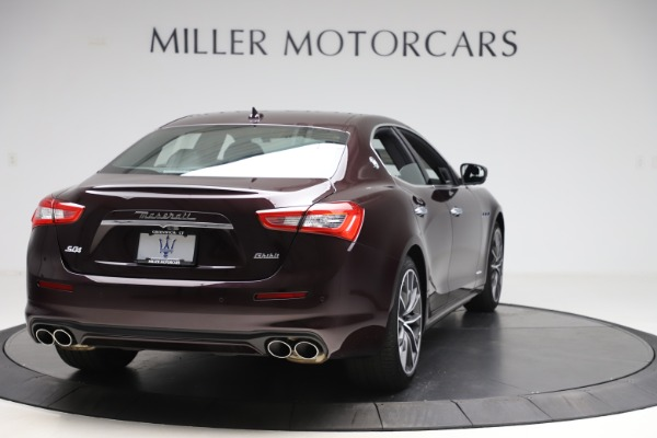 New 2020 Maserati Ghibli S Q4 GranLusso for sale $94,335 at Bentley Greenwich in Greenwich CT 06830 7