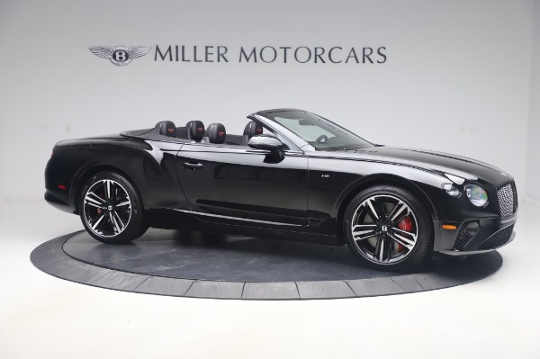 New 2020 Bentley Continental GT Convertible V8 for sale $275,045 at Bentley Greenwich in Greenwich CT 06830 10