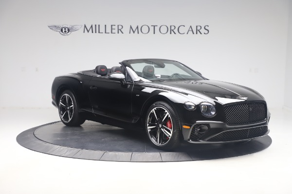 New 2020 Bentley Continental GTC V8 for sale $275,045 at Bentley Greenwich in Greenwich CT 06830 11