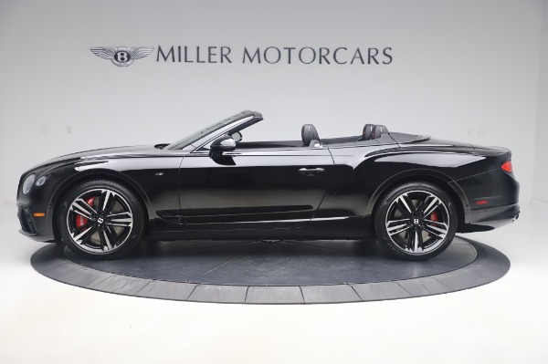 New 2020 Bentley Continental GT Convertible V8 for sale $275,045 at Bentley Greenwich in Greenwich CT 06830 3