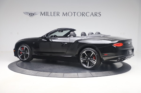 New 2020 Bentley Continental GTC V8 for sale $275,045 at Bentley Greenwich in Greenwich CT 06830 4