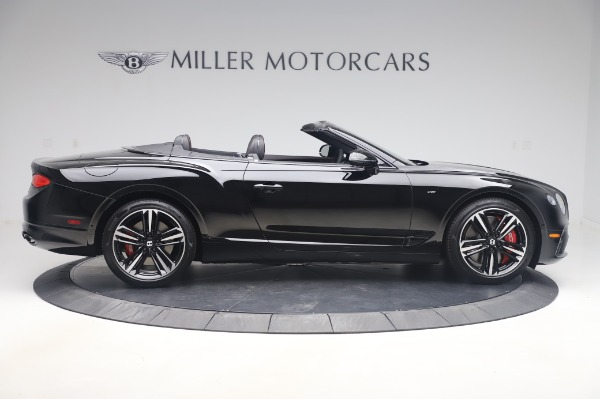 New 2020 Bentley Continental GT Convertible V8 for sale $275,045 at Bentley Greenwich in Greenwich CT 06830 9