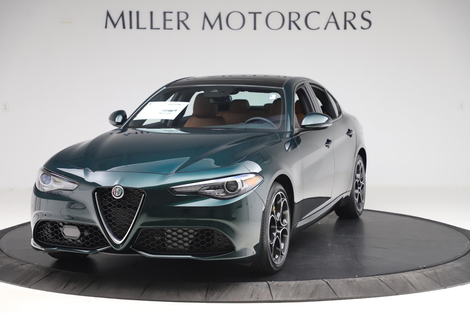 New 2020 Alfa Romeo Giulia Ti Sport Q4 for sale $54,995 at Bentley Greenwich in Greenwich CT 06830 1