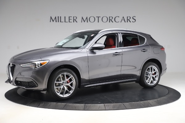 New 2020 Alfa Romeo Stelvio Ti for sale $54,995 at Bentley Greenwich in Greenwich CT 06830 2