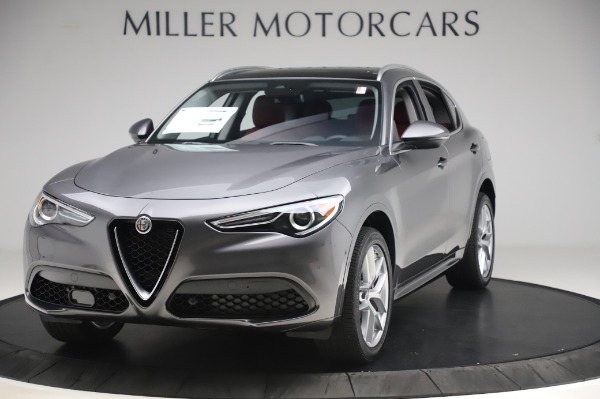 New 2020 Alfa Romeo Stelvio Ti for sale $54,995 at Bentley Greenwich in Greenwich CT 06830 1