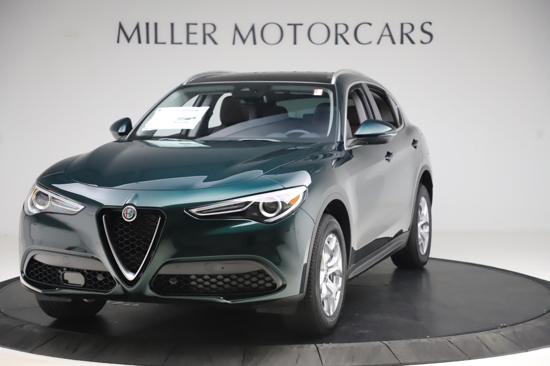 New 2020 Alfa Romeo Stelvio for sale $48,745 at Bentley Greenwich in Greenwich CT 06830 1