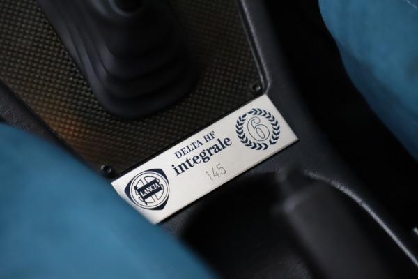 Used 1992 Lancia Delta Integrale Evo 1 - Martini 6 for sale $188,900 at Bentley Greenwich in Greenwich CT 06830 21