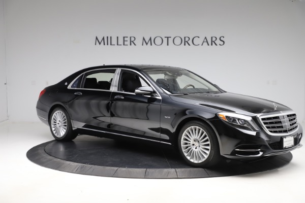Used 2016 Mercedes-Benz S-Class Mercedes-Maybach S 600 for sale $87,900 at Bentley Greenwich in Greenwich CT 06830 10