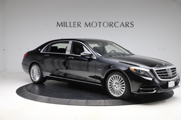 Used 2016 Mercedes-Benz S-Class Mercedes-Maybach S 600 for sale $87,900 at Bentley Greenwich in Greenwich CT 06830 11