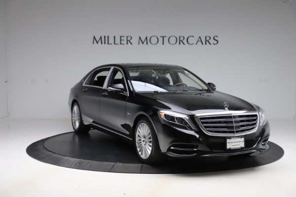 Used 2016 Mercedes-Benz S-Class Mercedes-Maybach S 600 for sale $87,900 at Bentley Greenwich in Greenwich CT 06830 12
