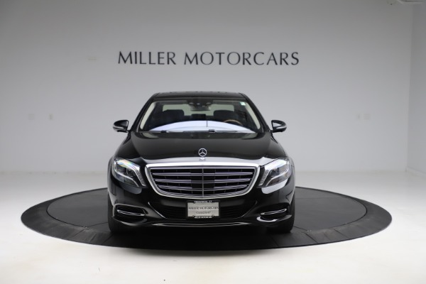 Used 2016 Mercedes-Benz S-Class Mercedes-Maybach S 600 for sale $87,900 at Bentley Greenwich in Greenwich CT 06830 13