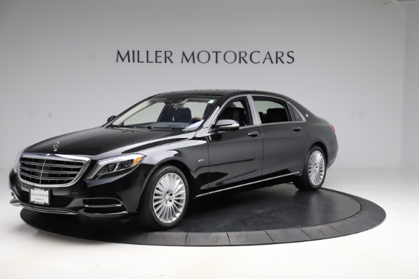 Used 2016 Mercedes-Benz S-Class Mercedes-Maybach S 600 for sale $87,900 at Bentley Greenwich in Greenwich CT 06830 2