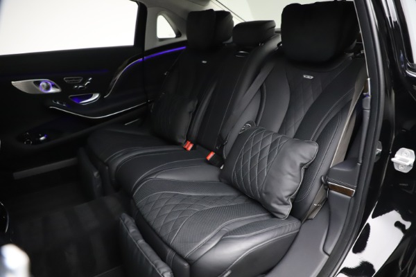 Used 2016 Mercedes-Benz S-Class Mercedes-Maybach S 600 for sale $87,900 at Bentley Greenwich in Greenwich CT 06830 28