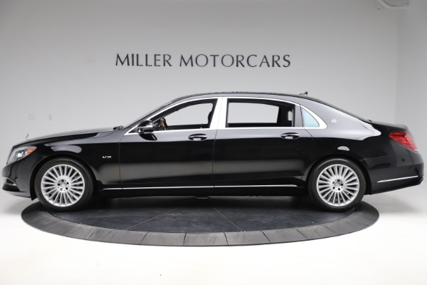 Used 2016 Mercedes-Benz S-Class Mercedes-Maybach S 600 for sale $87,900 at Bentley Greenwich in Greenwich CT 06830 3