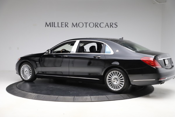 Used 2016 Mercedes-Benz S-Class Mercedes-Maybach S 600 for sale $87,900 at Bentley Greenwich in Greenwich CT 06830 4