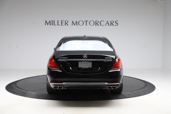 Used 2016 Mercedes-Benz S-Class Mercedes-Maybach S 600 for sale $87,900 at Bentley Greenwich in Greenwich CT 06830 6