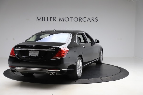 Used 2016 Mercedes-Benz S-Class Mercedes-Maybach S 600 for sale $87,900 at Bentley Greenwich in Greenwich CT 06830 7