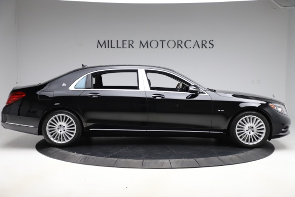 Used 2016 Mercedes-Benz S-Class Mercedes-Maybach S 600 for sale $87,900 at Bentley Greenwich in Greenwich CT 06830 9