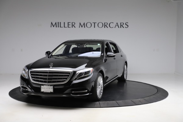 Used 2016 Mercedes-Benz S-Class Mercedes-Maybach S 600 for sale $87,900 at Bentley Greenwich in Greenwich CT 06830 1