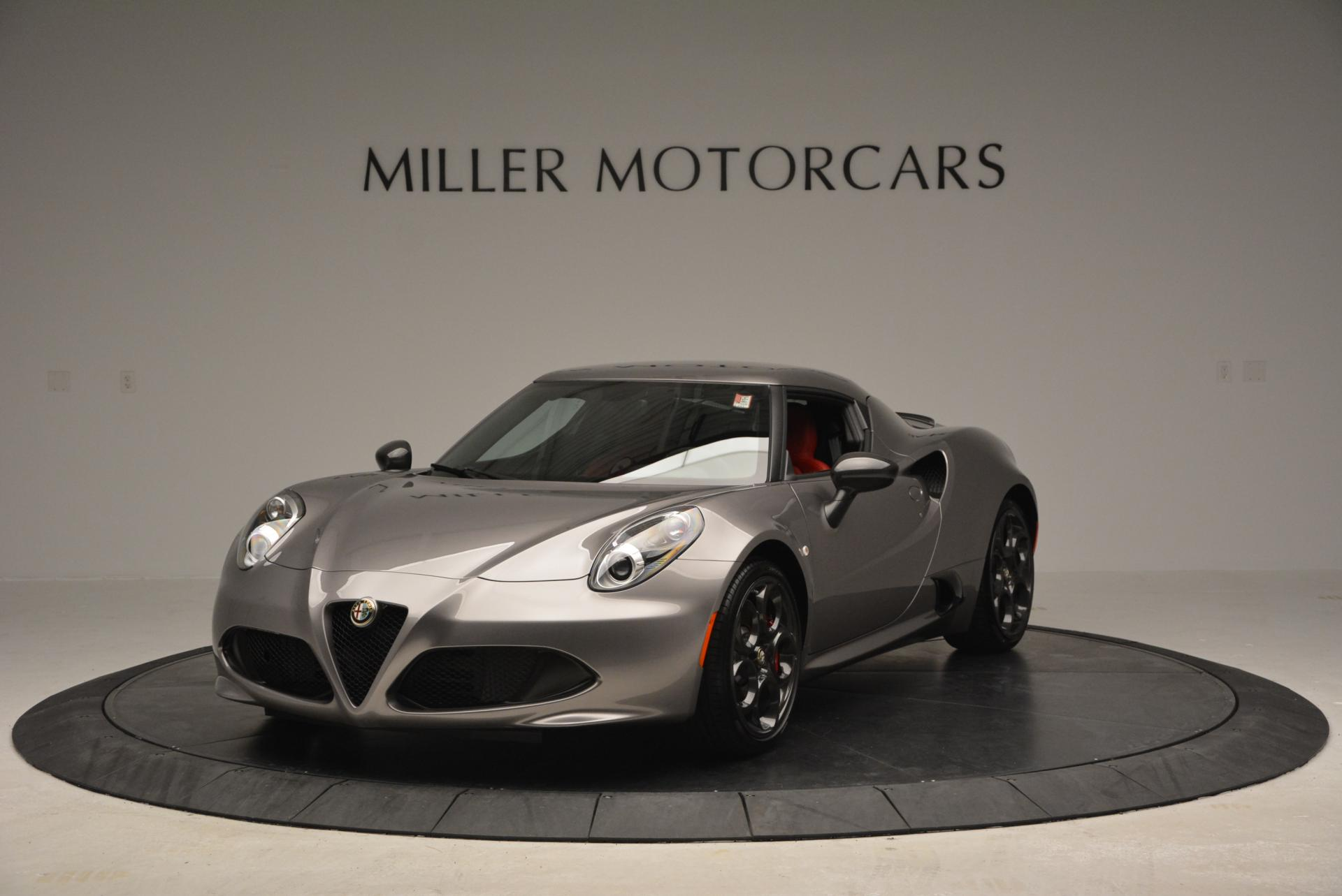 New 2016 Alfa Romeo 4C for sale Sold at Bentley Greenwich in Greenwich CT 06830 1