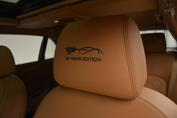 Used 2013 Bentley Mulsanne Le Mans Edition- Number 1 of 48 for sale Sold at Bentley Greenwich in Greenwich CT 06830 21
