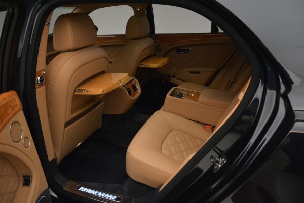 Used 2013 Bentley Mulsanne Le Mans Edition- Number 1 of 48 for sale Sold at Bentley Greenwich in Greenwich CT 06830 25