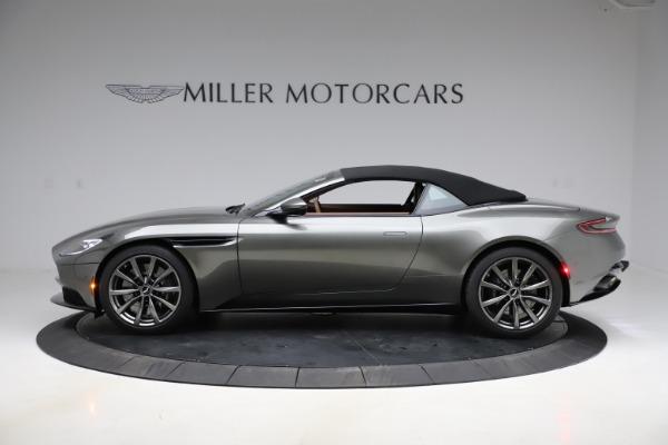 New 2020 Aston Martin DB11 Volante Volante for sale $264,266 at Bentley Greenwich in Greenwich CT 06830 22