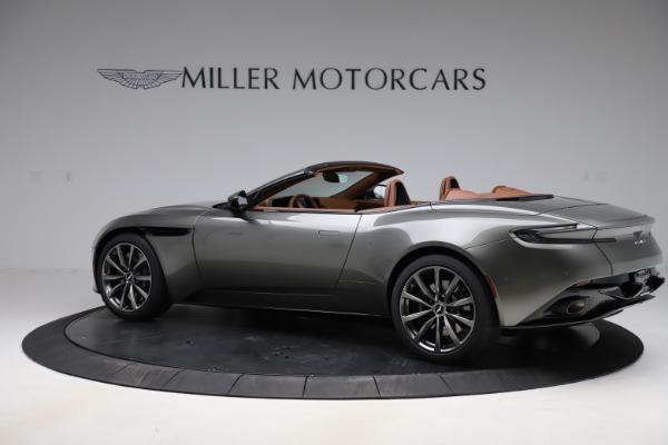 New 2020 Aston Martin DB11 Volante Volante for sale $264,266 at Bentley Greenwich in Greenwich CT 06830 5