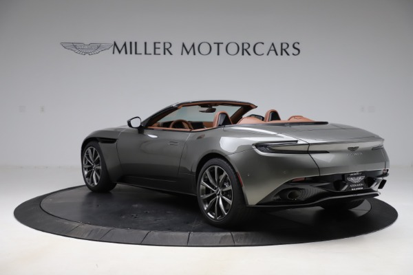 New 2020 Aston Martin DB11 Volante Volante for sale $264,266 at Bentley Greenwich in Greenwich CT 06830 6