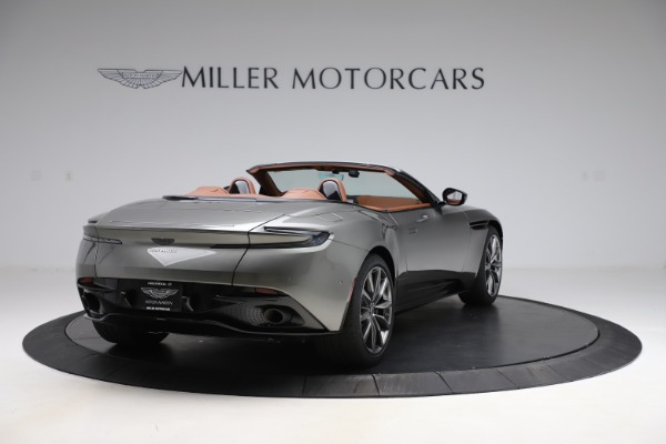 New 2020 Aston Martin DB11 Volante Volante for sale $264,266 at Bentley Greenwich in Greenwich CT 06830 8